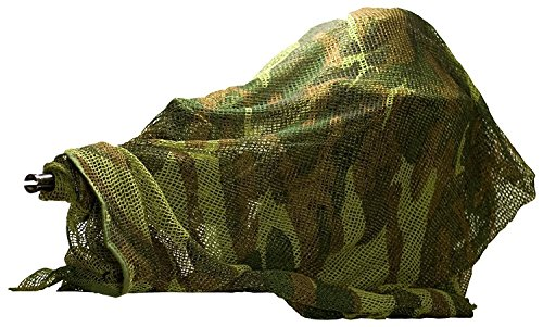 Miltec Echarpe Filet Woodland 190x90 cm Adulte Unisexe, Camo, Taille Unique