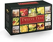 Ahmad Tea Twelve Enveloped, 60 Tea Bags - 120 Gm