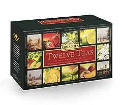Idea Regalo - Ahmad Tea Twelves Teas (Pack of 1, Total 60 Enveloped Tea Bags) [Grocery]