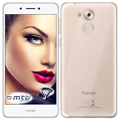 mtb more energy® Funda Clear & Slim para Honor 6C/Huawei Nova Smart (5.0'') | transparente | flexible | delgada | Gel TPU Silicona Carcasa Suave Cascara width=