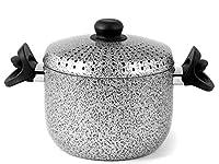 Il cuocipasta Saltpepper di Home è una vera e propria rivoluzione in cucina. In alluminio, completamente antiaderente, cuoce la pasta in pochi minuti alla perfezione, nè troppo al dente nè scotta. Ha un diametro di 20 cm e può essere comodame...