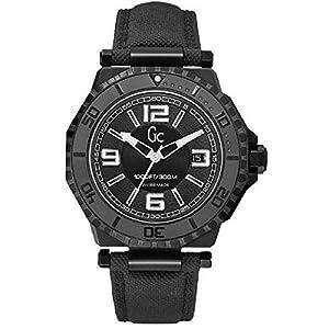 Guess Reloj analogico para Hombre de Cuarzo con Correa en Piel X79011G2S