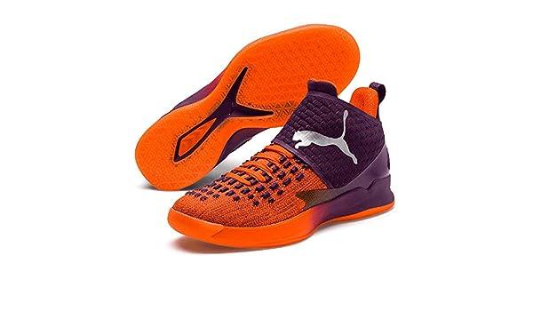 Puma Rise XT Fuse 1 Scarpe da pallamano Arancione, Shocking