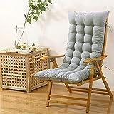 AMYDREAMSTORE Rechteck Plüsch Verdicken sie Sessel Sitzkissen Boden Tatami-pad Indoor Outdoor Bench Kissen Schaukelstuhl Kissen(Kein Stuhl)-I 48x125cm(19x49inch)
