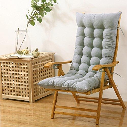 AMYDREAMSTORE Rechteck Plüsch Verdicken sie Sessel Sitzkissen Boden Tatami-pad Indoor Outdoor Bench kissen Schaukelstuhl kissen(Kein stuhl)-I 48x125cm(19x49inch) (Boden-teppich Getuftet)