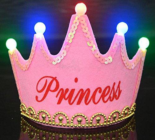 OFT Prinzessin / Prinz Königskrone Krone Diadem Tiara Geburtstag Kopfschmuck für Kinder (pink (Für Geburtstag Tiara Erwachsene)