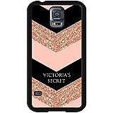 Durable Victoria's Secret Phone caso Cover for Funda Samsung Galaxy S5 I9600 Pink Special Design