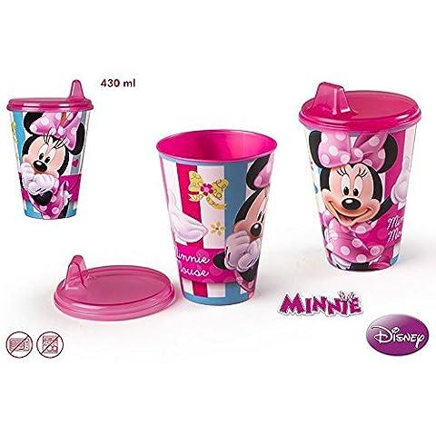 Glas flasche Minnie Maus - (430 ml)
