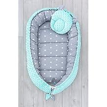 Anker marineblau//Streifenmuster marineblau LOOLAY/® 2seitig Kokon Schmetterling Kissen