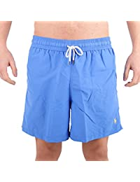 Ralph Lauren Men's 710683997016 Blue Polyester Trunks