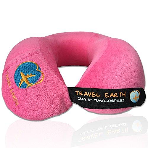 UDREAM coussin de voyage ergonomique  Garanti 5 ans  Oreiller de voyage à mémoire de forme ultra doux et réglable pour dormir en avion, voiture, mai...