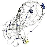 Pacsafe 55L - Anti-Diebstahl Rucksack- und Taschenschutz, Drahtkäfig Schutz-System mit Schloß, Reisegepäck Netz, Neutral, 22-55 Liter