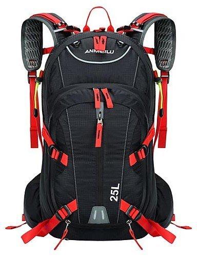 ZQ Radfahren Rucksack ( Gelb / Grün / Rot , Nylon ) Multifunktions Radsport Red