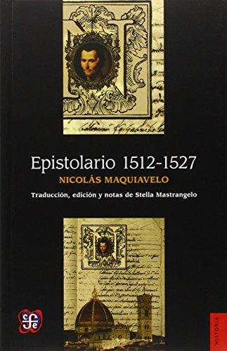 Epistolario 1512-1527 (Historia)