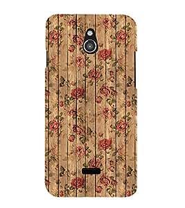 Fuson Designer Back Case Cover for InFocus M2 (Wooden Woody strong light Shady)