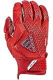 adidas Freak 3.0 American Football leicht gepolsterte Handschuhe - rot Gr. L
