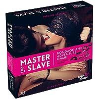 Tease & Please Jeu de Bondage Master/Slave Rose