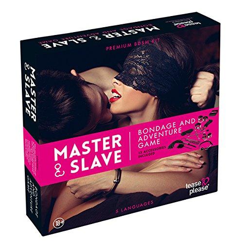 Tease & Please Bondage Spiel, Necken & Bitte, pink