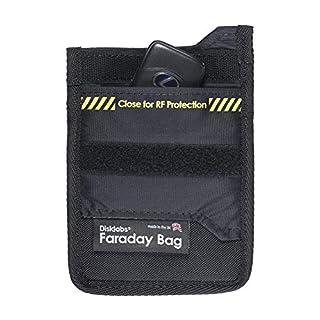 Disklabs Key Shield (KS1) Faraday Bag - RF Shielding for Car Keys