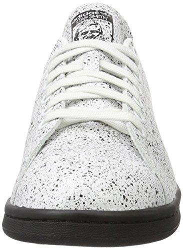 adidas Stan Smith, Gymnastique mixte adulte Bianco (Crywht/Cblack)