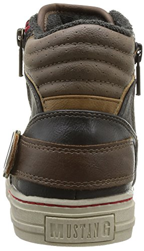MustangHigh Top Sneaker - Scarpe da Ginnastica Basse Uomo Grigio (Grau (259 graphit))