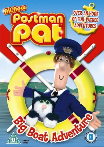 Image of Postman Pat: Big Boat Adventure [DVD]