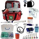 Notfalltasche Pulox Erste Hilfe Tasche gefüllt inkl. Pulsoximeter PO-200