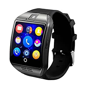 QiKU Terra 808 ( ( ( Compatible ) High quality smart calling watch with all functions of smartphones 2017 Newest Q18 Smart Watch Bluetooth Smartwatch Phone with Camera TF SIM Card Slot by vell-tech ) High quality smart calling watch with all functions of smartphones )