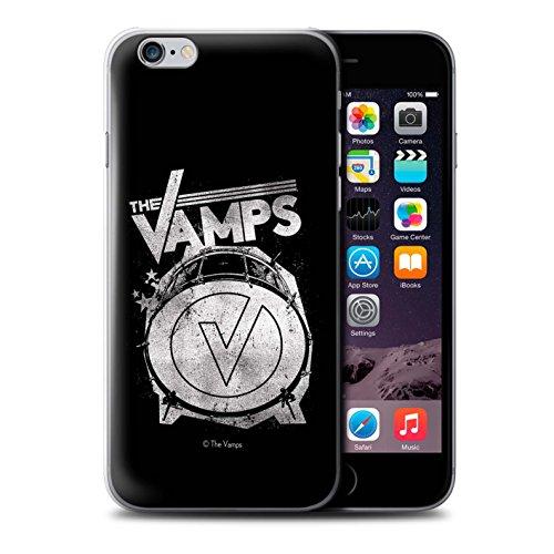 Offiziell The Vamps Hülle / Case für Apple iPhone 6S / Pack 6pcs Muster / The Vamps Graffiti Band Logo Kollektion Bassdrum
