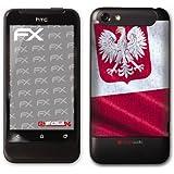 """atFoliX Film décoratif """"Pologne"""" Pour HTC One V (Import Allemagne)"""
