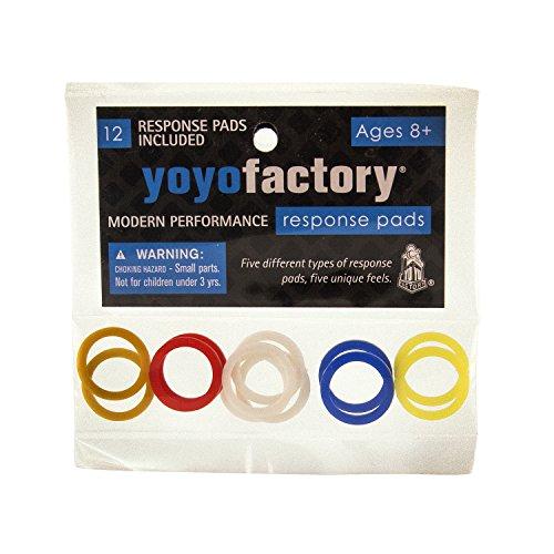 YoyoFactory Yo-Yo Response Pad Set (Pads Response Yoyofactory)