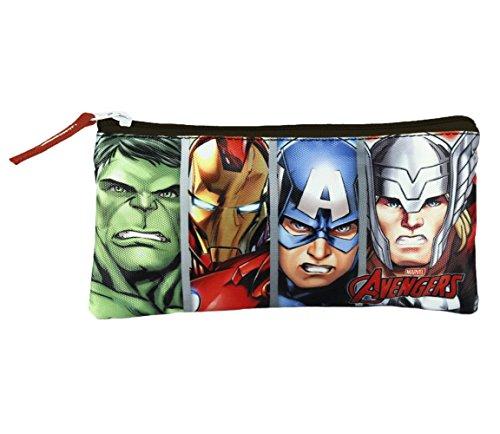 Avengers – Estuche portatodo plano doble (Artesanía Cerdá 2100001102)