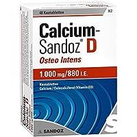 Calcium Sandoz D Osteo intens Kautabletten 48 stk preisvergleich bei billige-tabletten.eu
