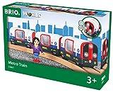 Brio GmbH Brio World 33867 - U-Bahn mit Licht und Sound