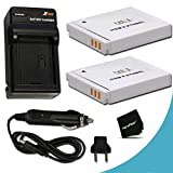 2 Canon NB-6L / NB-6LH Batteries Replacement by Xit with AC/DC Quick Charger Kit for Canon PowerShot SX540 SX530 HS SX610 HS SX600 HS SX710 HS SX700 HS SX520 HS SX510 HS SX500 IS SX280 HS SX260 HS SX170 IS SD1300 IS SD1200 IS SD980 SD770 SD1300 D30 D20 D10 IXUS 85 IS IXUS 95 IS IXUS 200 IS Digital Cameras