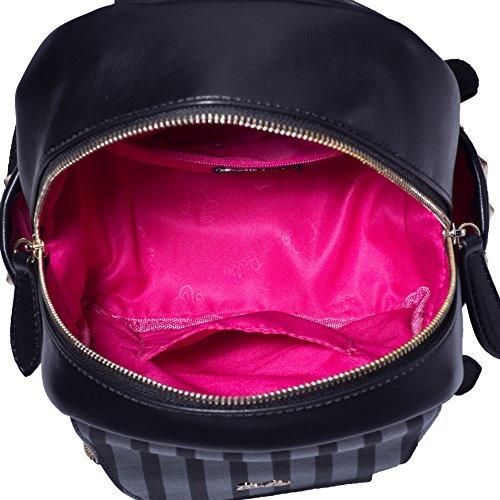 Barbie NEU Damenrucksack Multifunktionsrucksack Schulrucksack Damen Outdoor Rucksack #BBBP057 (Schwarz) Schwarz