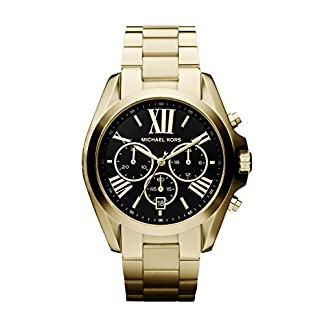 Michael Kors Bradshaw Gold-Tone Watch – Reloj
