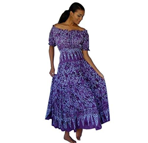 Lotustraders -  Vestito  - Donna Purple