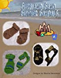 Surf and Sand Sandal Booties - Summer Boy's Collection Crochet Pattern (English Edition)