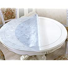 h+h furniture Mika Tischplatte ESG-Glas rund /ø 120 cm ohne Tischgestell