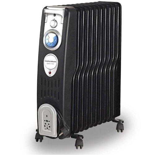 Morphy Richards Ofr1100 2500-watt Oil Filled Radiator (black)