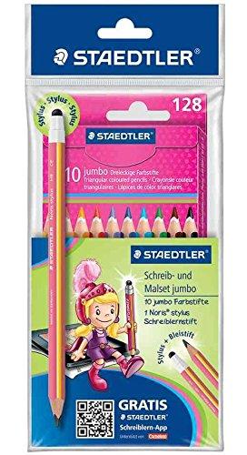 Staedtler 61 SET27 - Schreib- und Malset jumbo Marsy mit Noris stylus Schreiblernstift