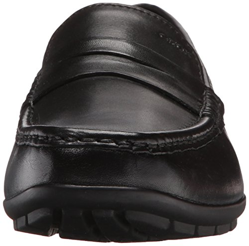 Geox U Moner W 2Fit, Mocassini Uomo Nero (Black C9999)