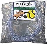 PetCords Protector de cable para perros y gatos, protege a tus mascotas de morder cables aislados de hasta 3 metros, sin aroma, inodoro