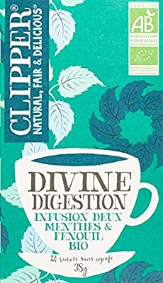 Clipper Infusion Divine Digestion Biologique 20 Infusettes - Lot de 2