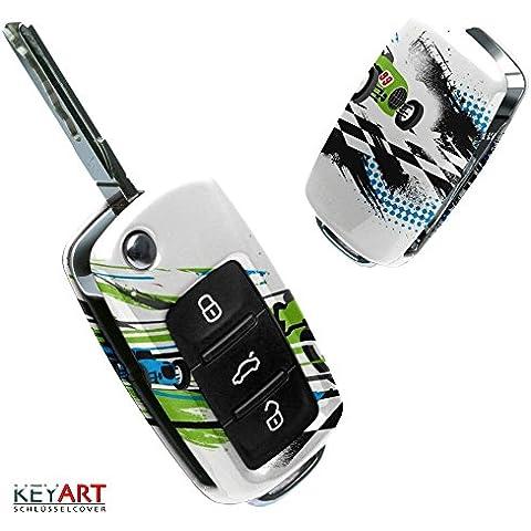 La cobertura de la llave de SEAT VW SKODA con Diseño Race