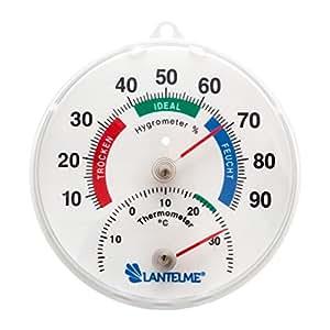 Thermo-hygromètre - Système combiné hygromètre / thermomètre analogique pour intérieur ou extérieur