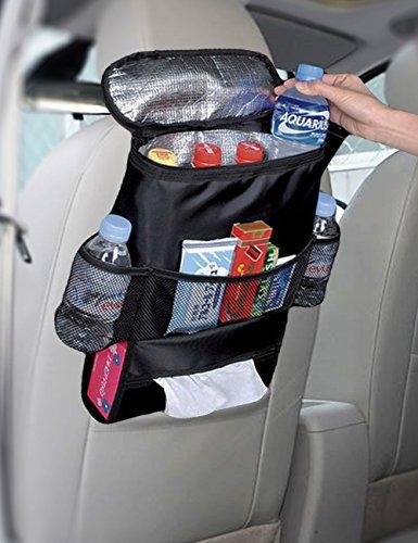 Preisvergleich Produktbild Big Ant Auto-Rücksitztasche/Aufbewahrungstasche/Organizer, mehrere Taschen, Thermofunktion