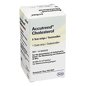Accutrend Cholesterol Tes 5 stk