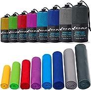 Fit-Flip Toalla Microfibra – en 11 Colores, 8 tamaños – compacta, Ultraligera y de Secado rápido – Toallas de